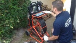 CCTV drain surveys in Winchester, Hampshire